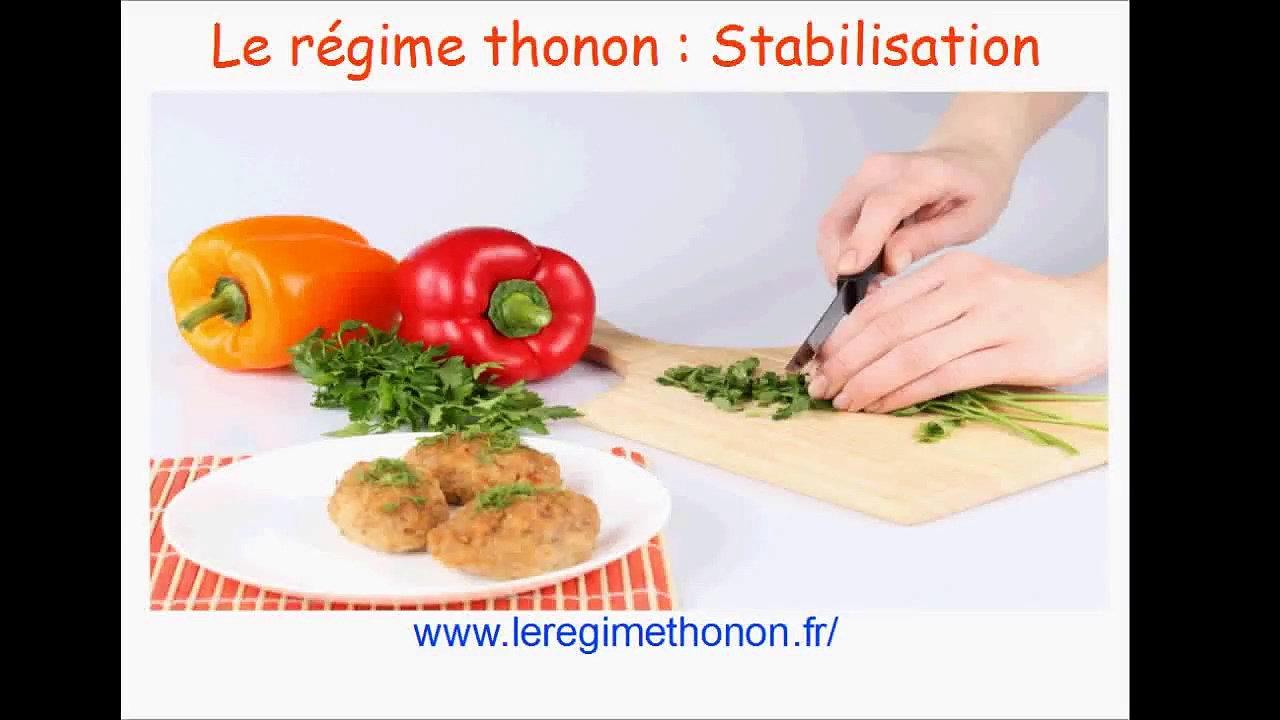 Régime thonon stabilisation