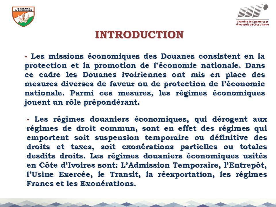 Le régime économique ivoirien