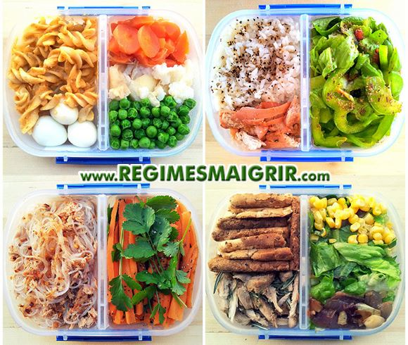 Recette regime avec calorie
