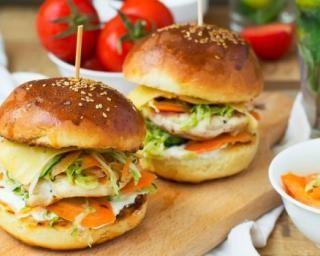 Recette minceur hamburger