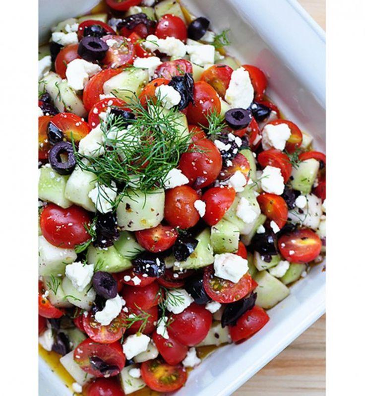Recette salade regime été