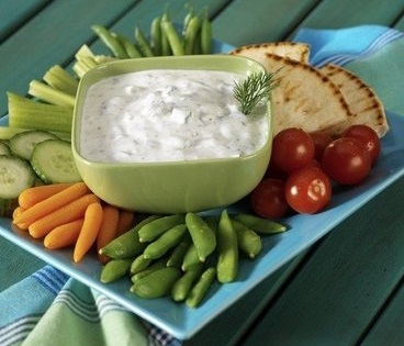 Recette minceur sauce au yaourt