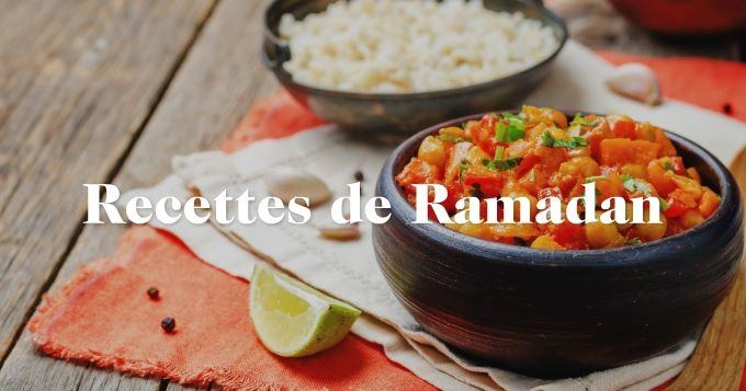 Recette regime ramadan