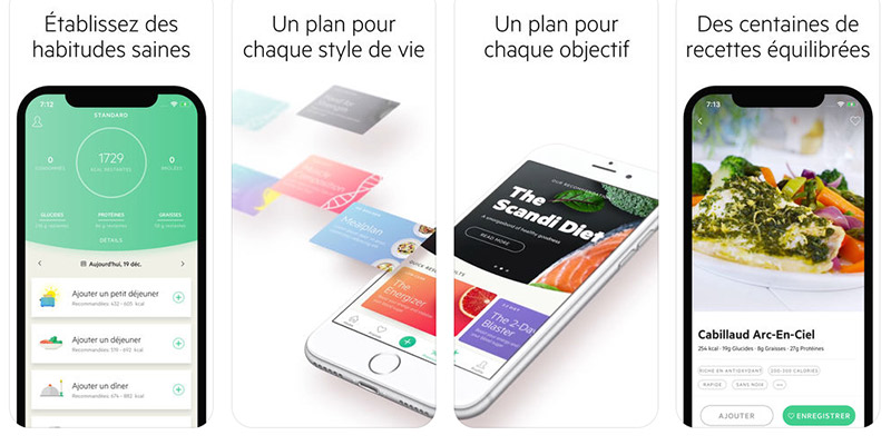 Application recette minceur iphone