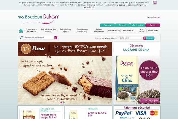 Regime dukan site web