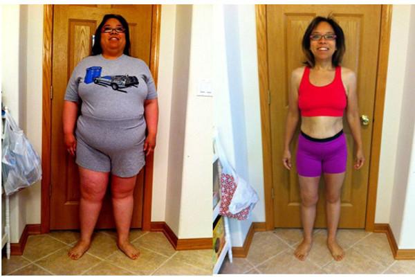 Régime weight watchers avant après