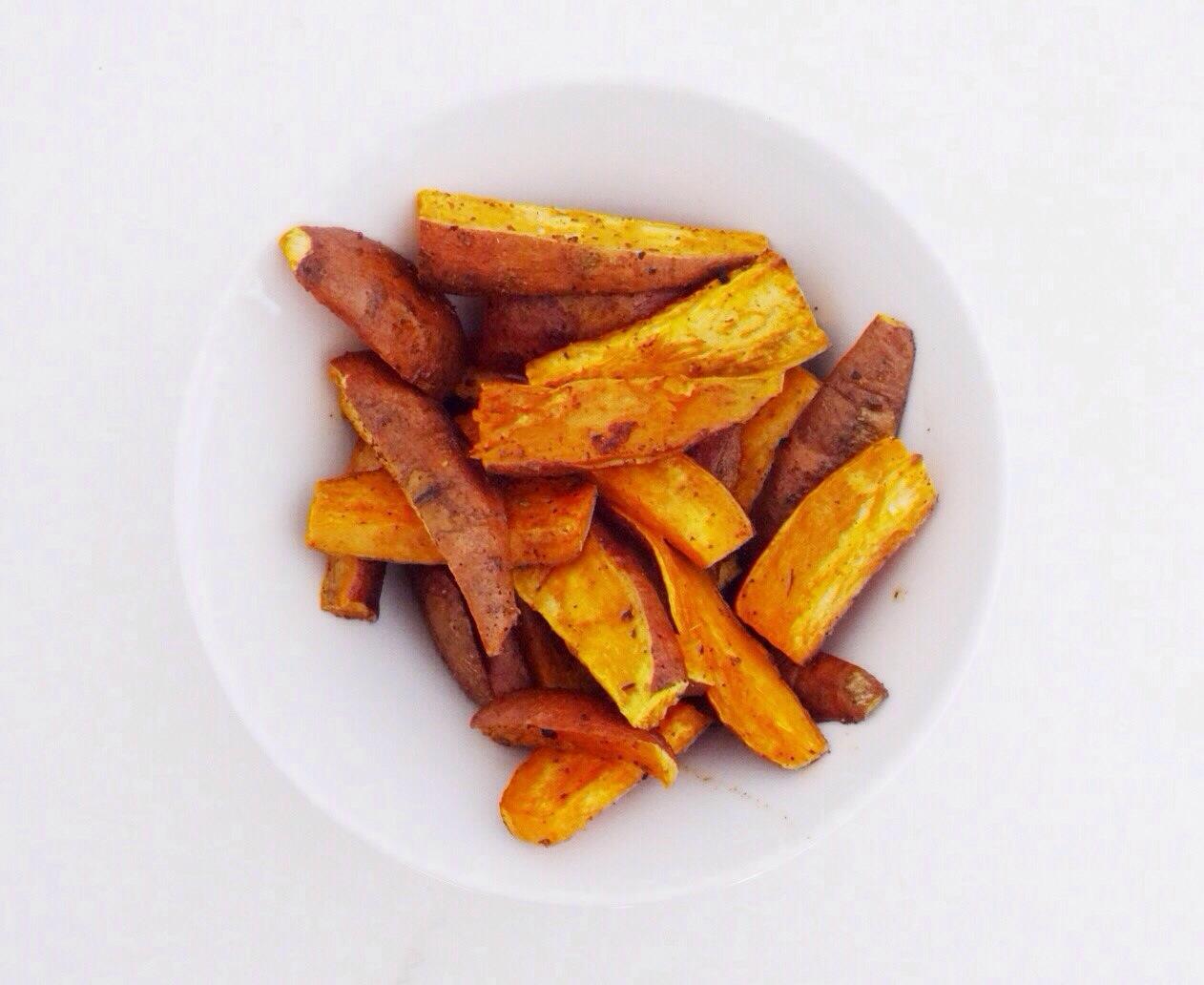 Recette minceur patate douce