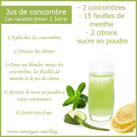 Recette regime detox citron