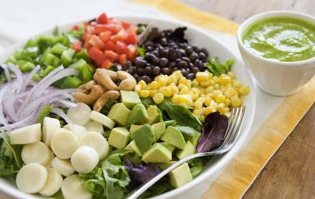 Recette régime végétarien