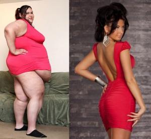 Obese avant apres regime